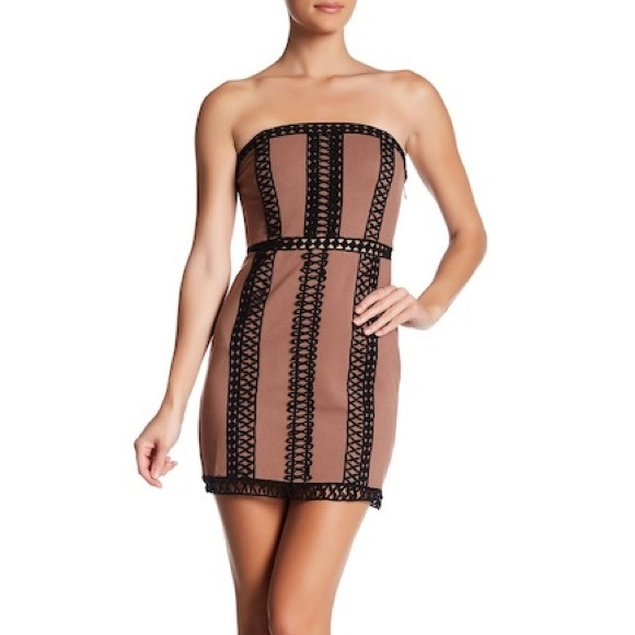 73805c5d6e0 FREE PEOPLE embroidered tube dress